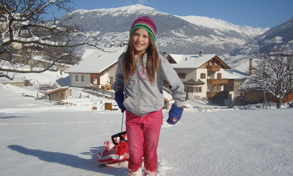 Winter fun in Vinschgau