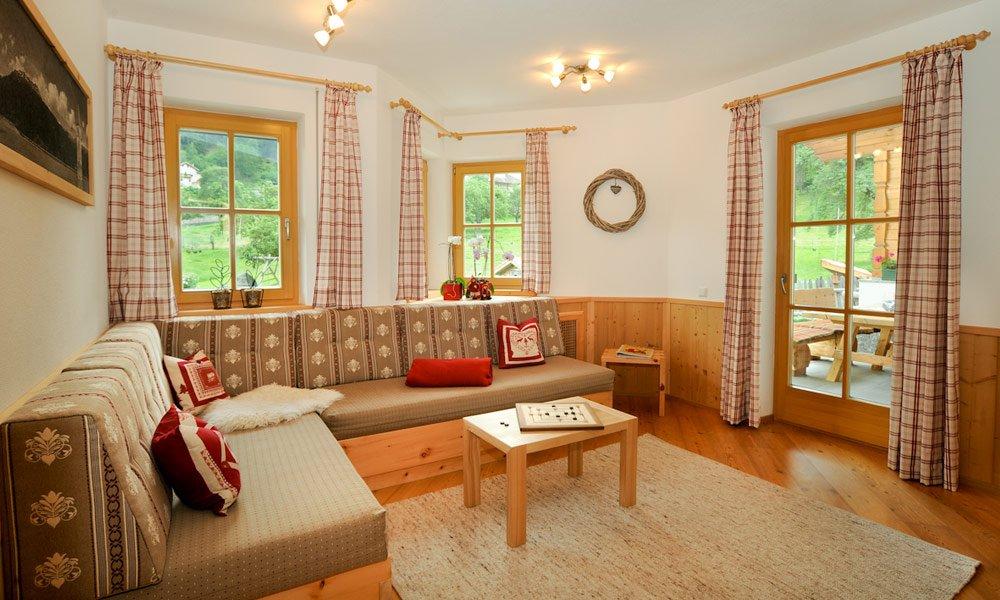 Ecco come vivrete nella nostra casa vacanze in Val Venosta: