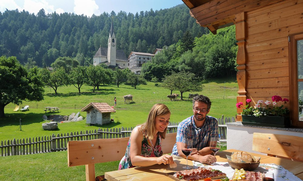 Ecco come vivrete nella nostra casa vacanze in Val Venosta